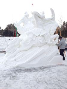 ice sculpture 2013